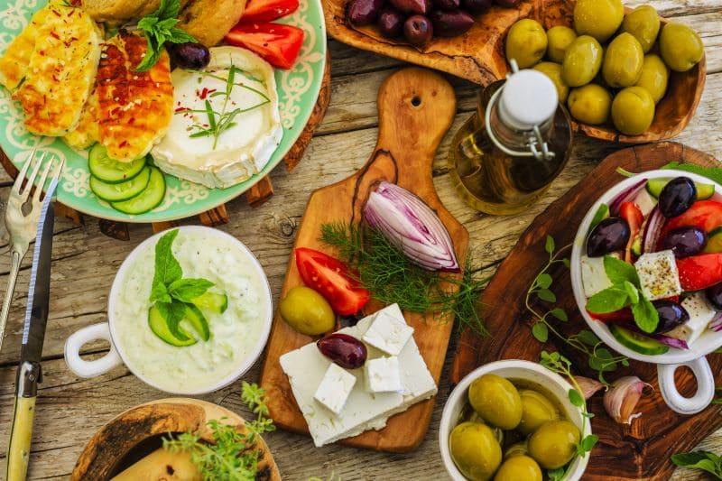 välimeren-ruokavalio-raaka-aineet